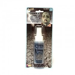 Zombie Black Blood Spray