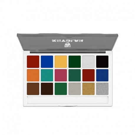 Kryolan Body Illustration Make-up Palette - Bright