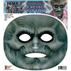 Zombie Temporary Facial Tattoo