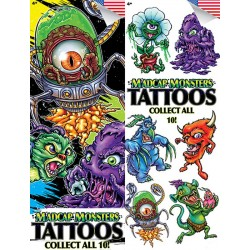 Madcap Monsters Temporary Tattoos