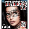 Lace Face Temporary Tattoo