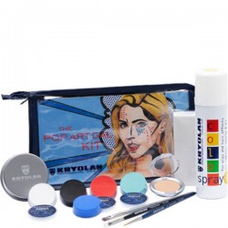Kryolan The Pop Art Gal Makeup Kit