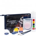 Kryolan Flaming Skull Makeup Kit