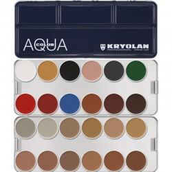Kryolan Aquacolor Palette - N