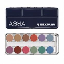 Kryolan Aquacolor Palette - P