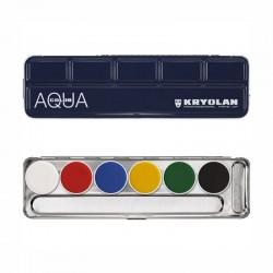 Kryolan Aquacolor Palette - A