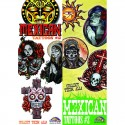Mexican Series 2 Temporary Tattoos
