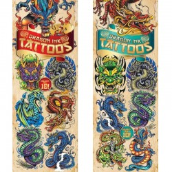 Dragon Ink Series 2 Temporary Tattoos