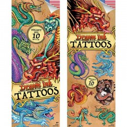 Dragon Ink Series 3 TemporaryTattoos