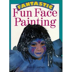 Fantastic Fun Face Painting - Hardcover Book