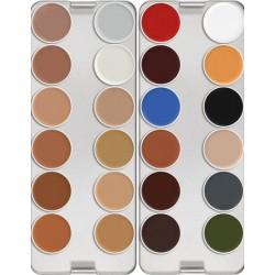 Kryolan Supracolor 24-Color Palette - N