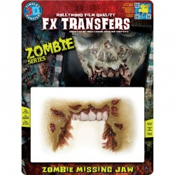 3D FX Transfers - Zombie Missing Jaw
