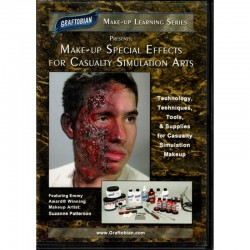 Makeup Special Effects for Casualty Simulation - DVD
