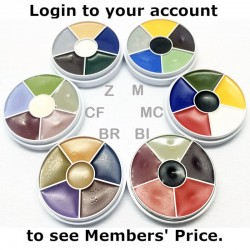 Kryolan Cream Color Circles