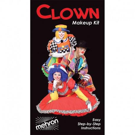 Mehon Clown Makeup Kit