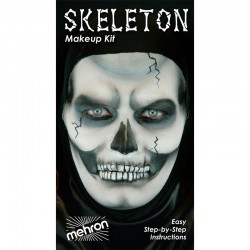 Mehon Skeleton Makeup Kit