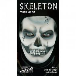 Mehron Skeleton Makeup Kit