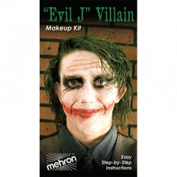 Mehron Evil J Villain Makeup Kit