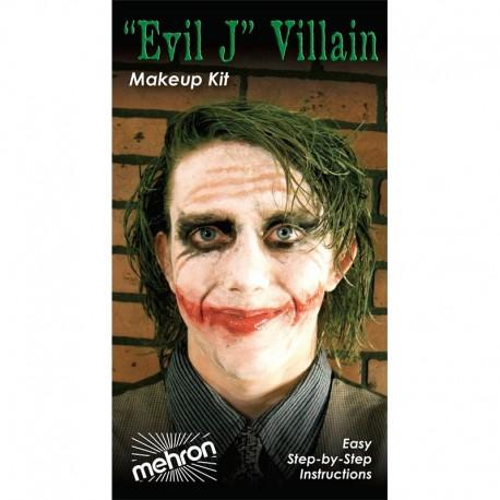Mehon Evil J Villain Makeup Kit