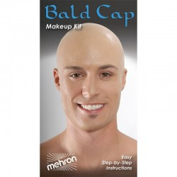 Mehron Bald Cap Makeup Kit