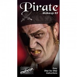 Mehron Pirate Makeup Kit