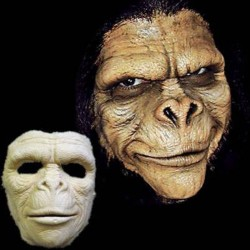 Foam Latex Apeman Face