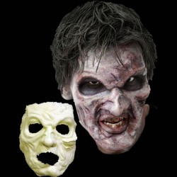 Foam Latex Zombie Face