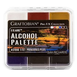 Graftobian F/X Aire Alcohol Palette - Primaries Plus