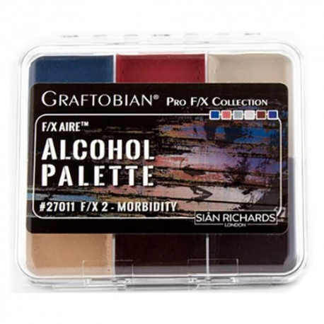 Graftobian F/X Aire Alcohol Palette - Morbidity