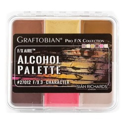 Graftobian F/X Aire Alcohol Palette - Character
