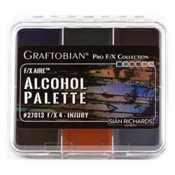 Graftobian F/X Aire Alcohol Palette - Injury