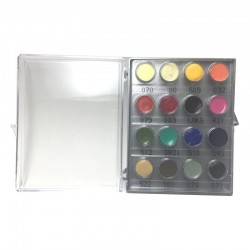 Kryolan RMG 16-Color Mini Palette - Bright