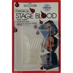 Mehron Empty Blood Capsules