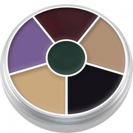 Kryolan Cream Color Circle - Black Eye
