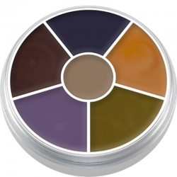 Kryolan Cream Color Circle - Bruise