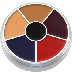 Kryolan Cream Color Circle - Burned Skin