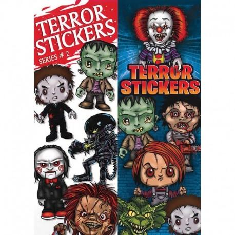 Terror Series 2 Stickers
