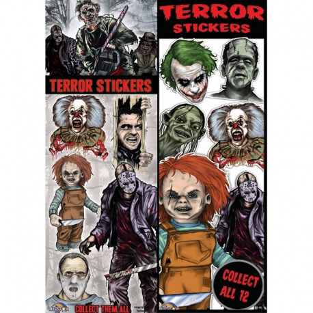 Terror Series 1 Stickers