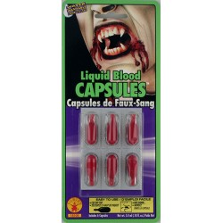 Rubies Liquid Blood Capsules