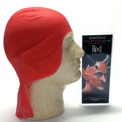 Woochie Latex Bald Cap - Red