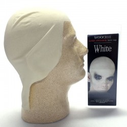 Woochie Latex Bald Cap - White