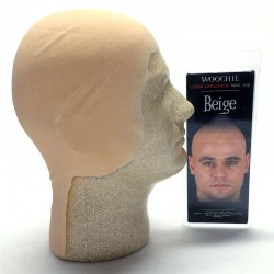 Woochie Latex Bald Cap - Beige