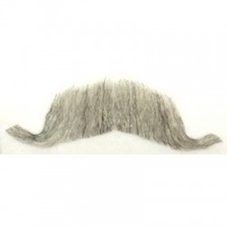 Real Hair Colonel Major Moustache