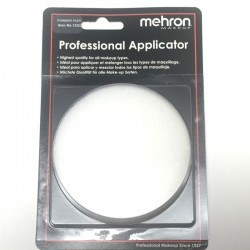 Mehron White Powder Puff - 3.25-inch