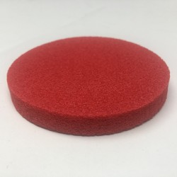 Red Rubber Makeup Applicator - 3-inch