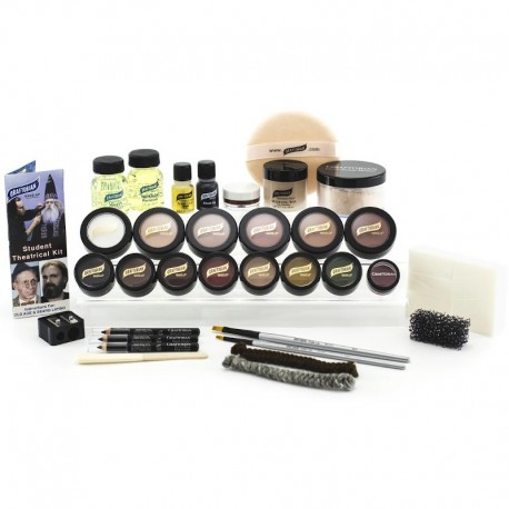 Graftobian Deluxe Theatrical Kit - Medium/Olive
