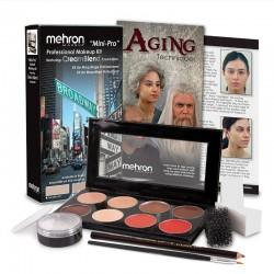 Mehron Mini-Pro Professional Makeup Kit - Medium Dark / Dark