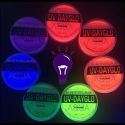 Kryolan UV-Dayglow Aquacolor - UV Blacklight