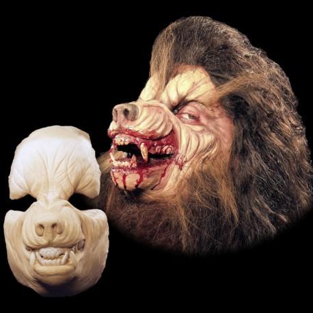 Werewolf Face Foam Latex Prosthetic