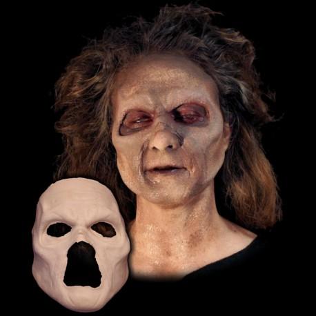 Undead Zombie Face Foam Latex Prosthetic